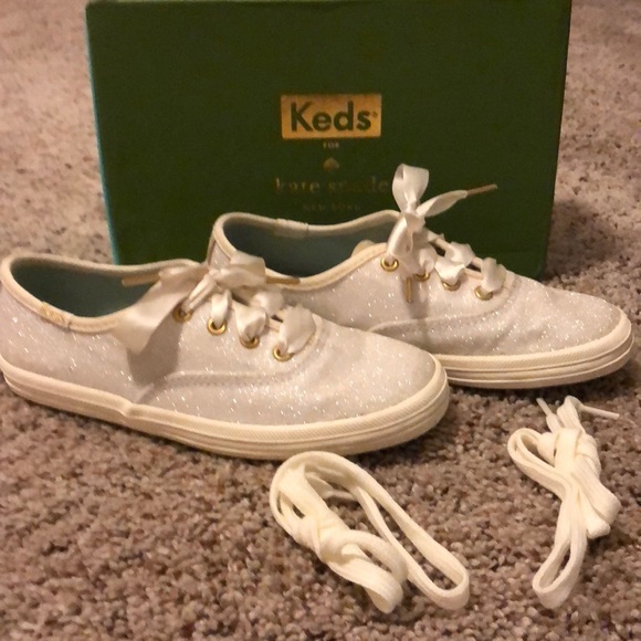 a6082d1f5b71a Keds Other - Keds for Kate Spade champion glitter cream 12T